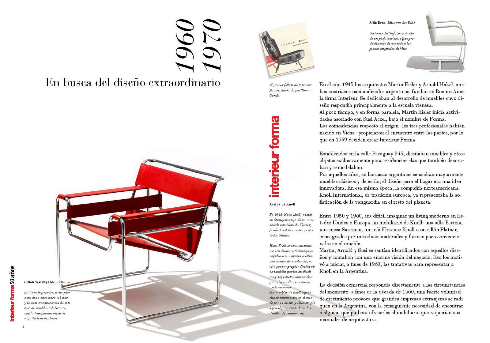 The lovely writer libro 50 aniversario interieur forma for Interieur forma