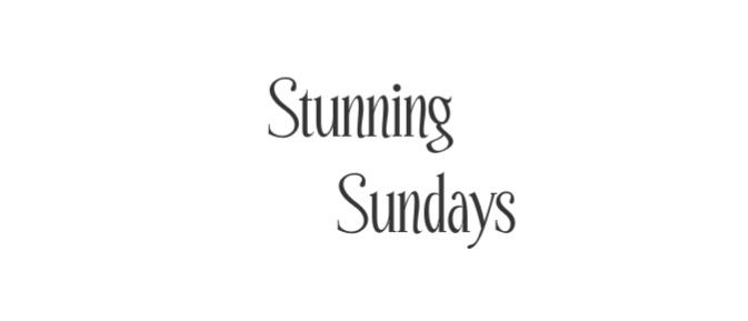 Stunning Sundays