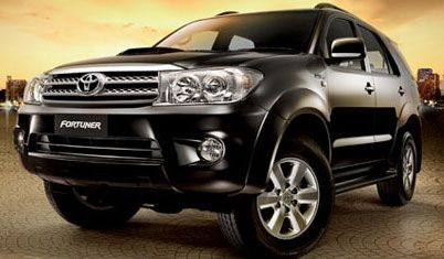 Rental Mobil Toyota Fortuner Solo on Toyota Fortuner 2010
