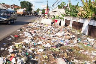 Musim Hujan Volume Sampah Bertambah 300 ton Perhari
