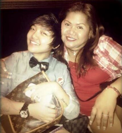 Charice Pempengco and mom Raquel