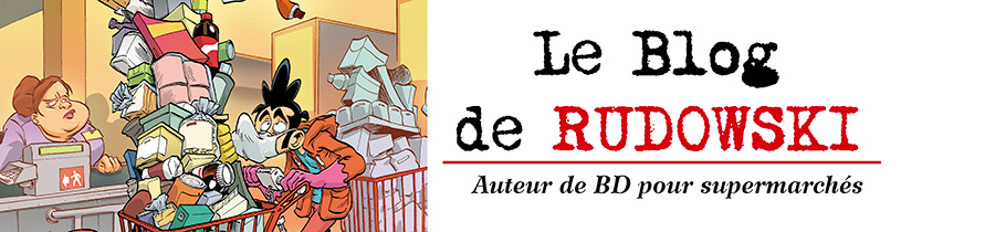 Rudowski: Dessinateur de superettes