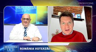 Realitatea la zi: România votează! Mihai Neamţu, candidat din partea PMP la Camera Depuţatilor