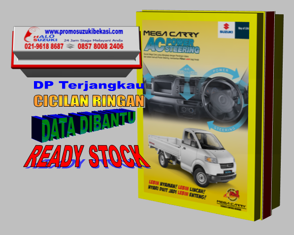 Promo Mobil Suzuki Mega Carry AC dan Power Steering