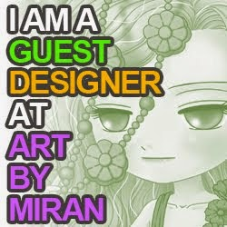 So pleased to be chosen as a Guest designer On Facebook