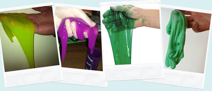 Как сделать лизуна своими руками без клея
