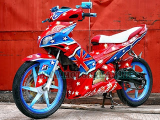 Modifikasi Motor Yamaha MX