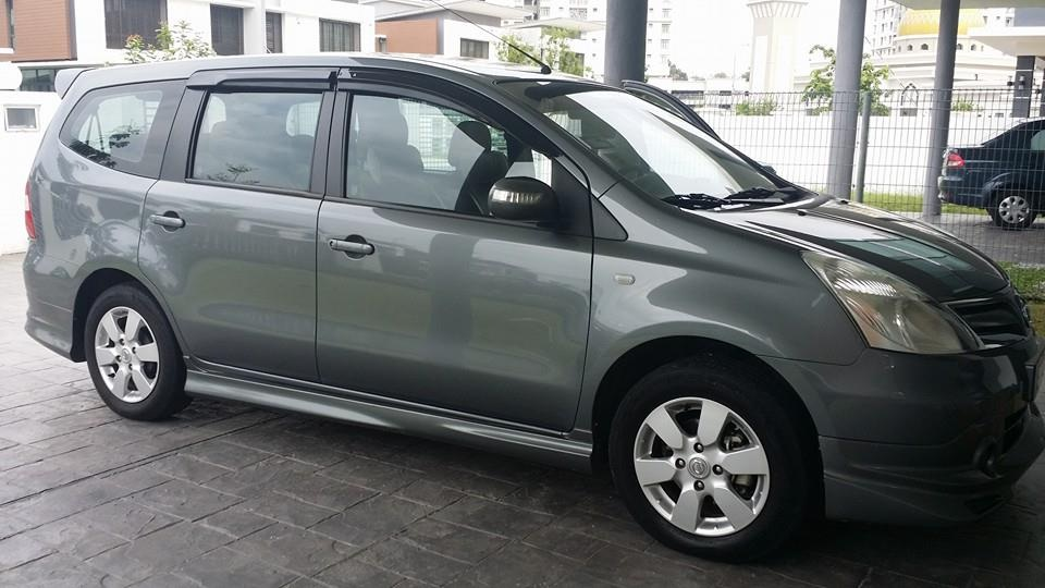 MPV Sewa Nissan Grand Livina