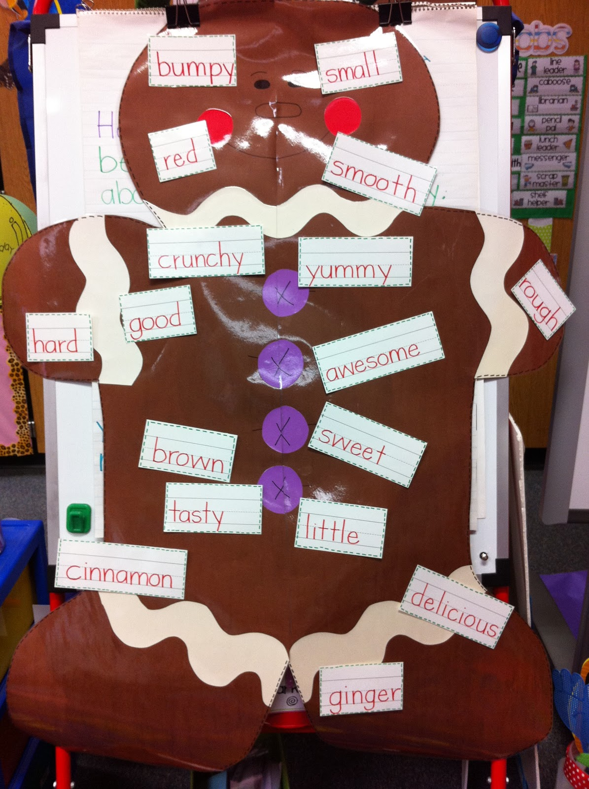 Welcome to Room 36!: Gingerbread Man and Christmas