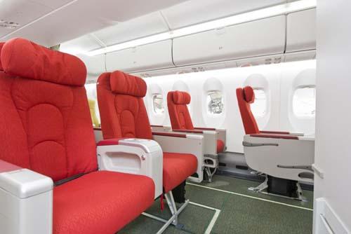 Ethiopian Airlines Q400 inside