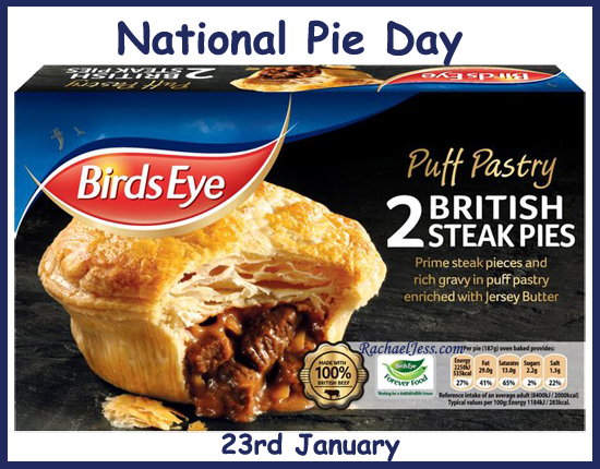 Cooking: National Pie Day