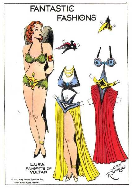 Loves the comic flash gordon strip love