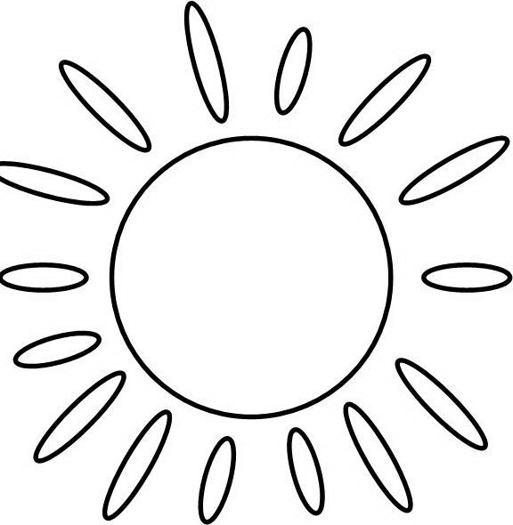 Лучики картинка для детей