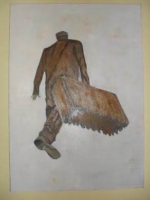 MEDENI MESEC-ulje na platnu-umetnik vladisav ART bogićević