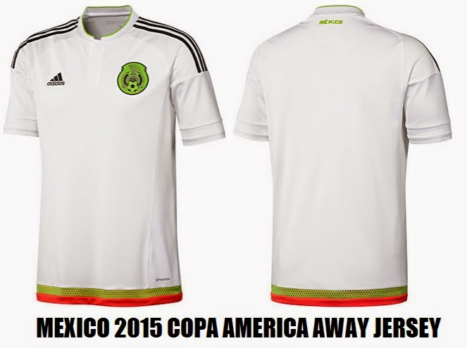 Mexico 2015 away jersey for Copa America
