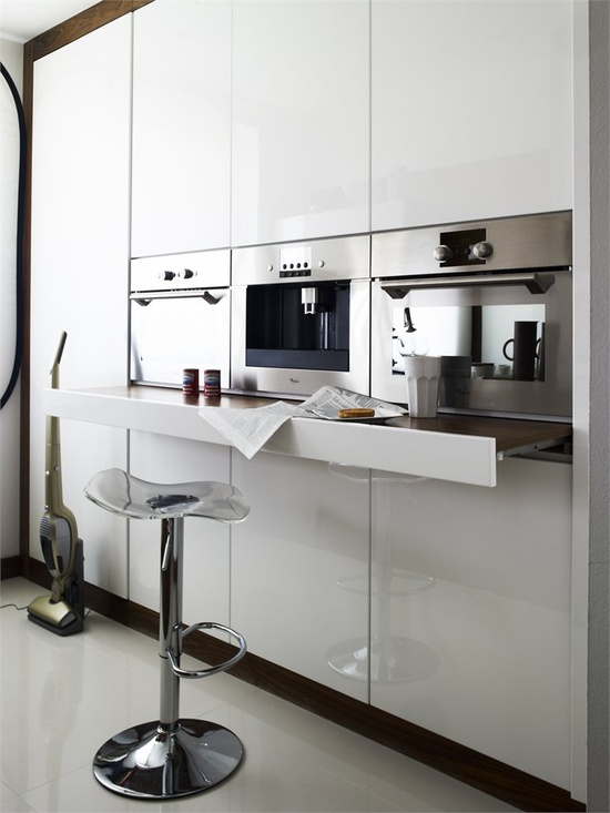 Living in designland inspiraci n funcionalidad en la cocina for Cafeteras oficina