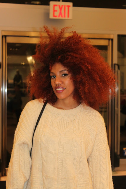 hair, red, big, street style, new york, trends, coolhunting, fashion 2013