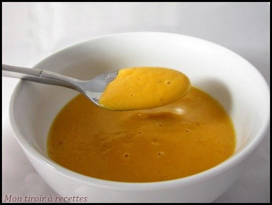 Soupe carottes pommes de terres