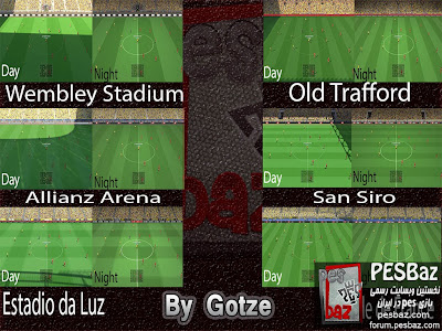 PES 2014 Turf Pack v1 By Gotze