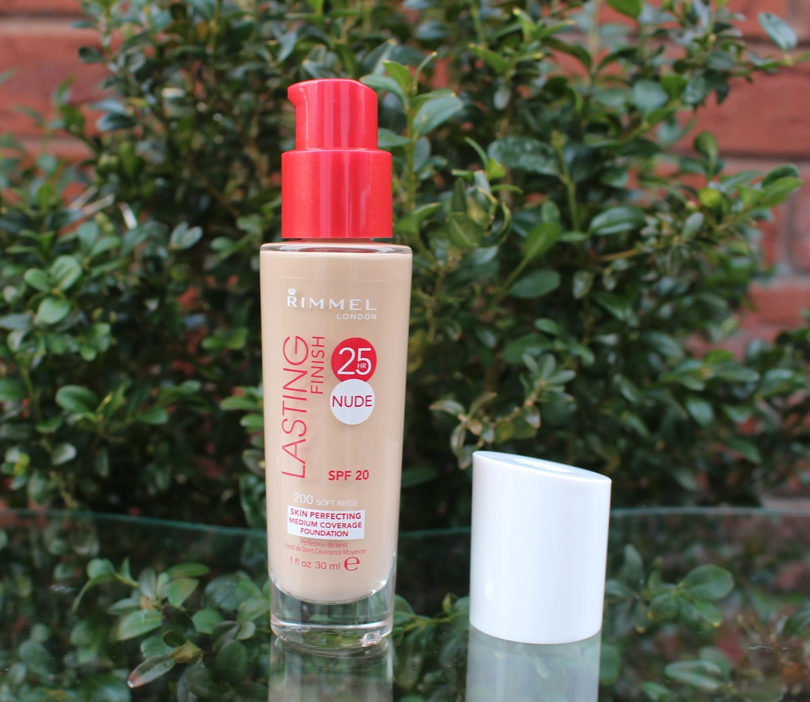 Rimmel Lasting Finish 25 hour Nude Foundation, Rimmel, Rimmel foundation, Long wearing foundation, nars sheer glow dupe, drugstore foundation, review, through chelsea's eyes,
