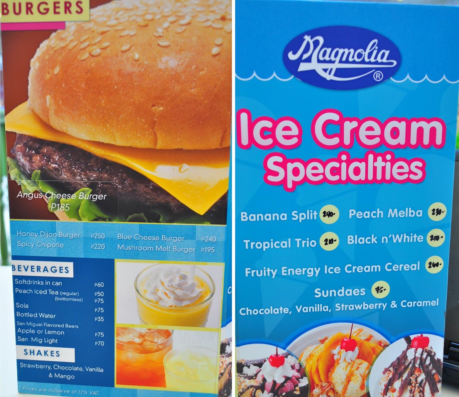 ice cream and magnolia