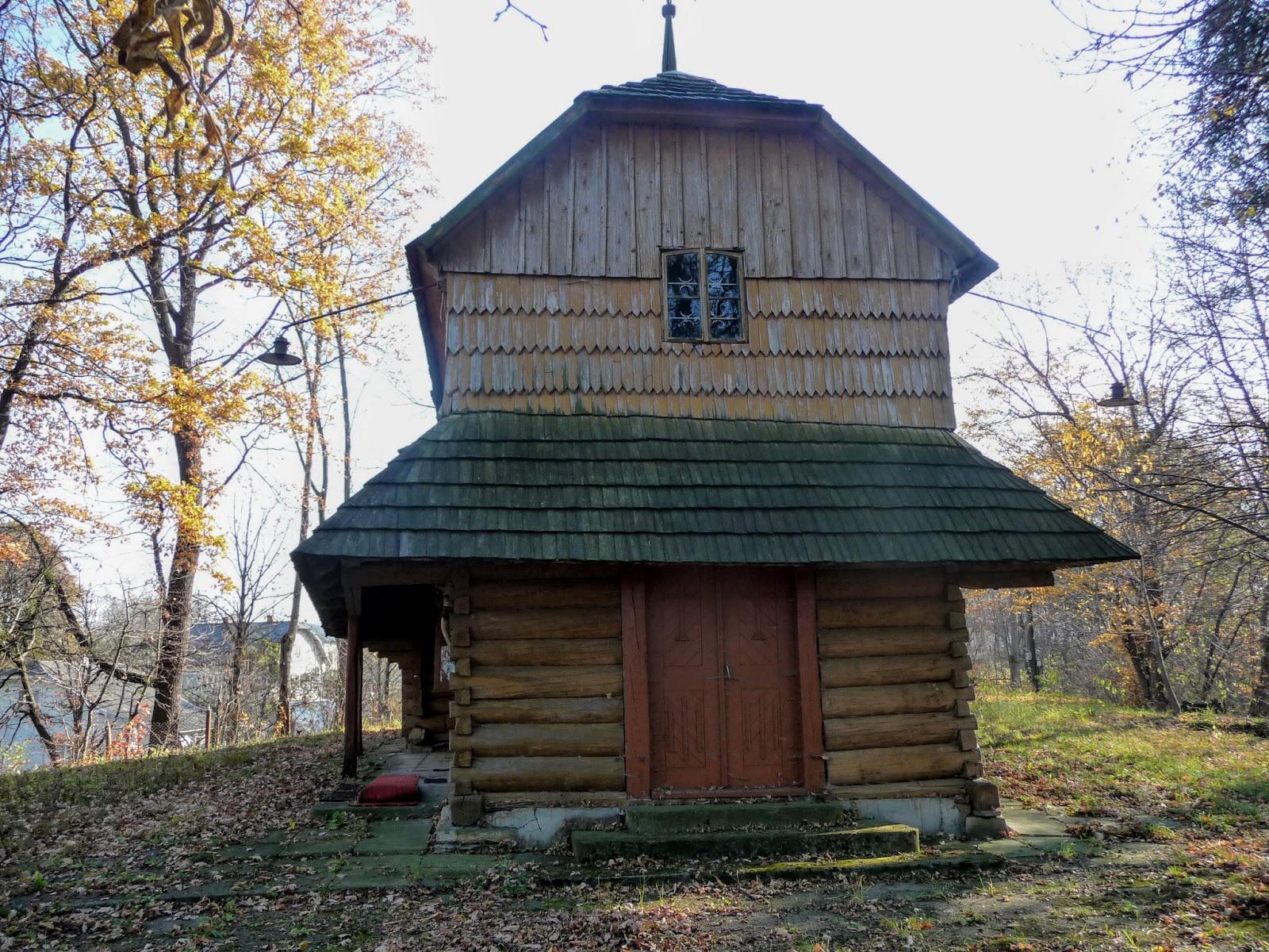 Стрілків. Церква Святого Миколая