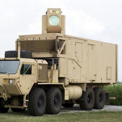 US LASER TRUCK WEAPON THAT CAN SHOOT DOWN ANYTHING