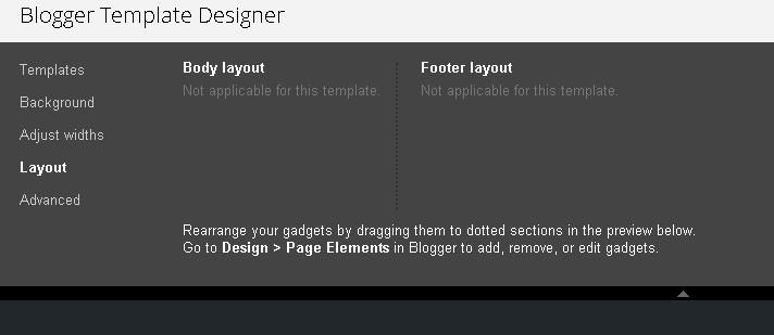 dynamic templates turning them on in your blog blogger hints and tips