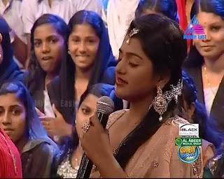 Television anchor Meera Anil latest hot photos in saree