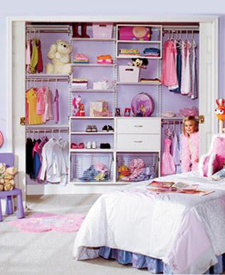 Closets Modernos de Madera para Jóvenes y Niños