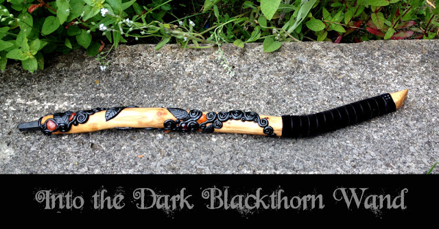 Blackthorn Wand from MoonsCrafts