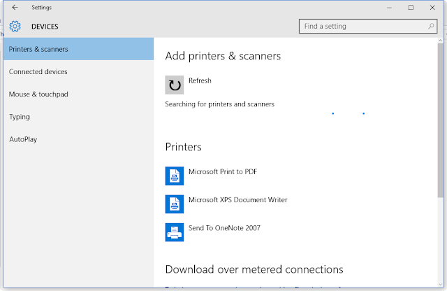 how to set up fileshare access from printer scanner