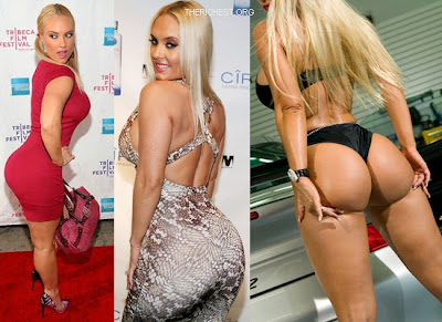 Coco Austin's Rounded Butt