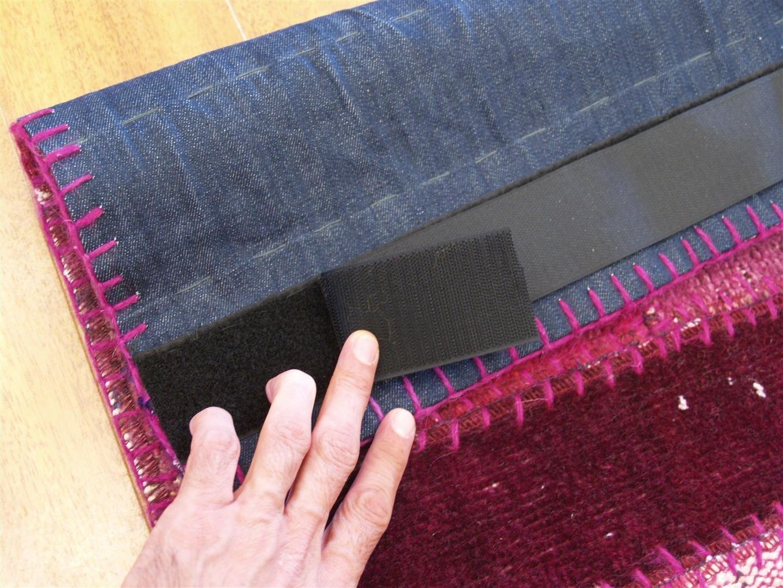 Rug Master Collage Carpet Velcro Strip Backing