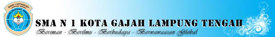 SMA N 1 Kota Gajah Lampung Tengah