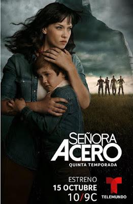 Señora Acero (TV Series) S05 D15 Custom HD Latino