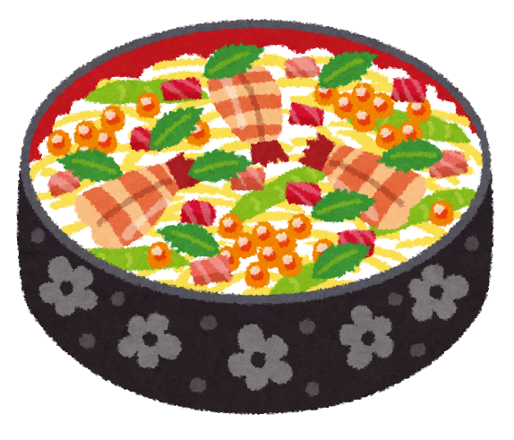 http://1.bp.blogspot.com/-J6nKmcwOnrU/Uf8zhxvTMNI/AAAAAAAAWrs/2ewlc7-DWq0/s800/food_chirashizushi.png