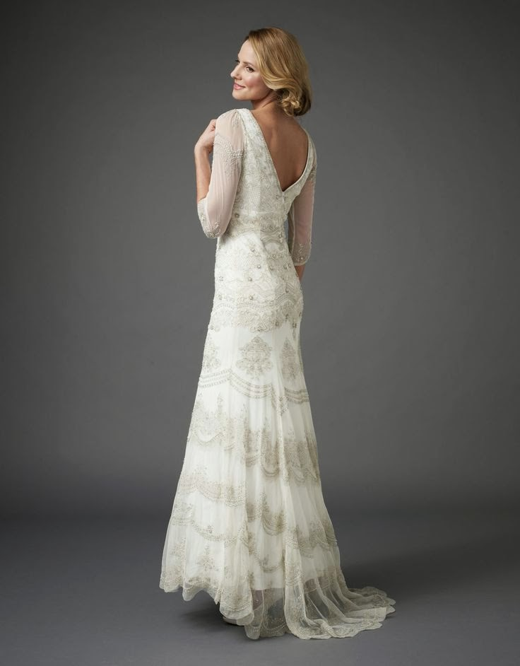 Affordable Beaded Wedding Dress - Monsoon