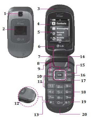 LG Revere 2 user manual