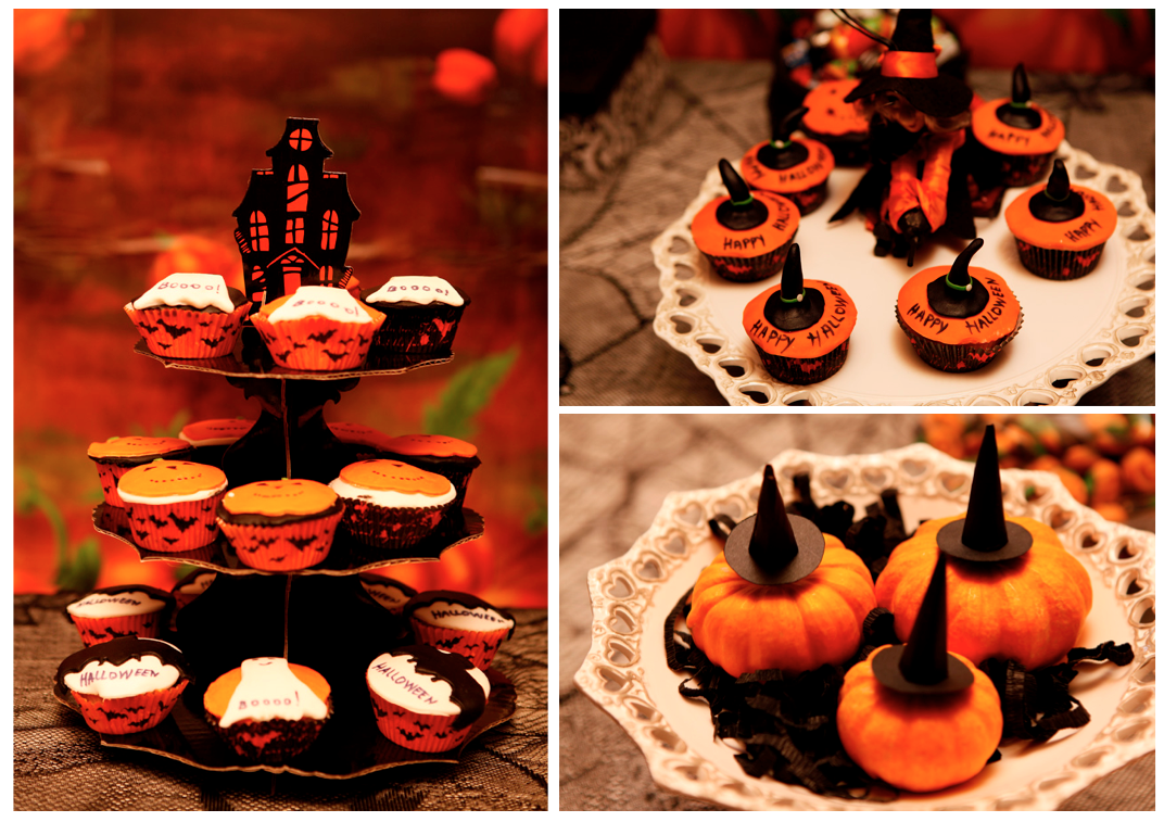 halloween themed birthday party from italy - Halloween Themed Birthday Party