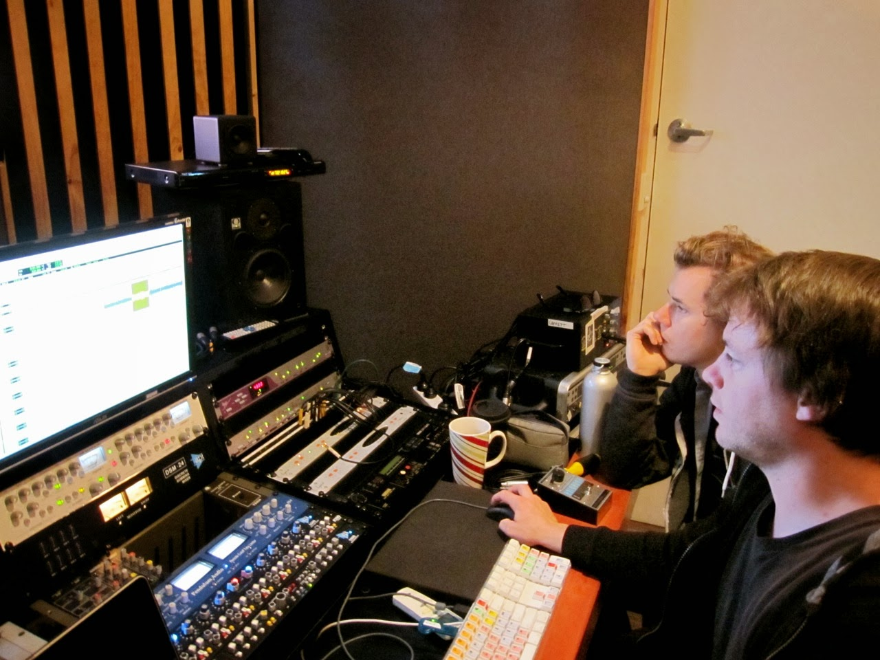 Hillsong Kiev - Океаны 2014 recording sessions at studio