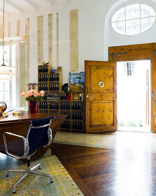 vía: cecchiniambrosinicristina.blogspot.com. La casa deBenedetta Taglabue. WeBoho