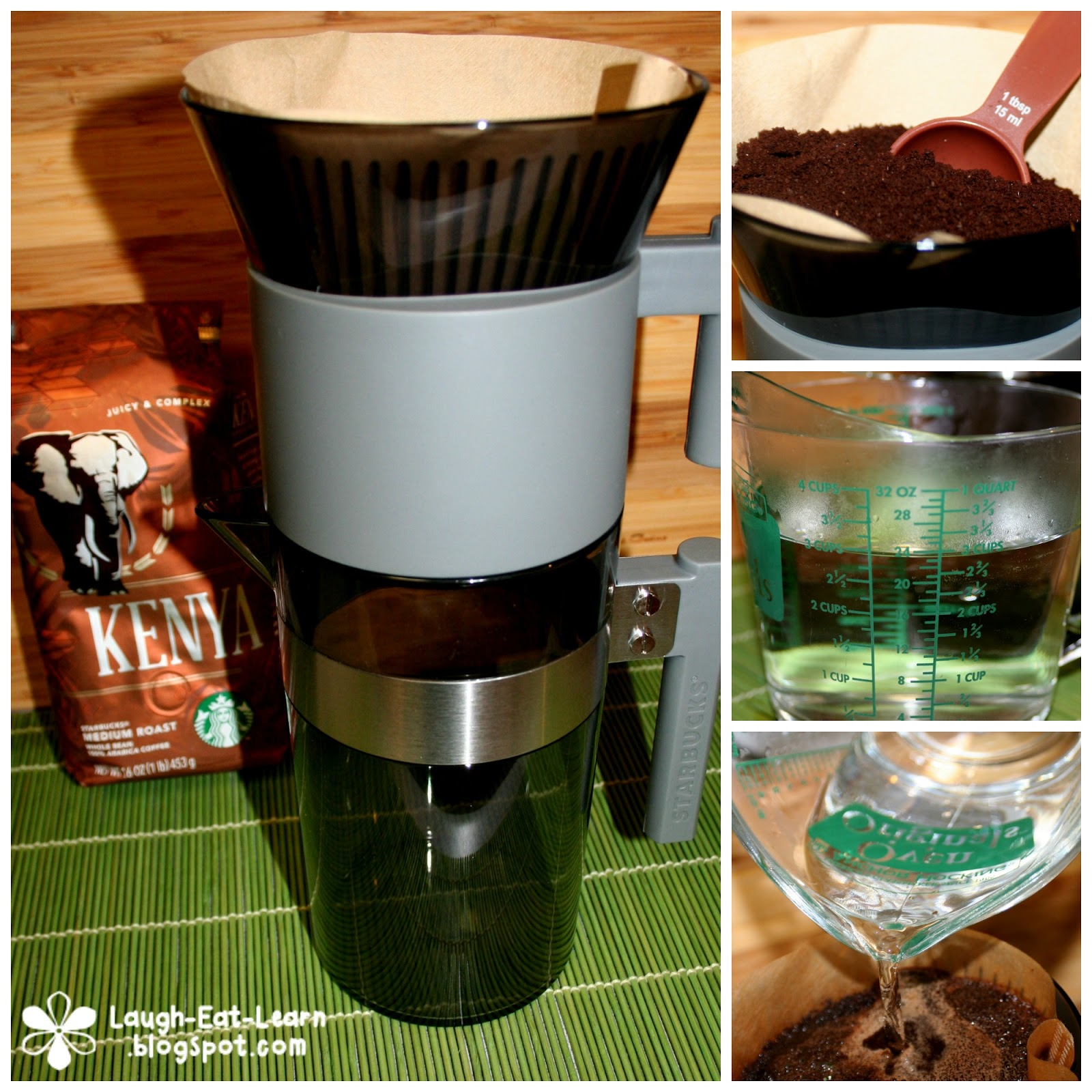 Unpacking Starbucks Iced Coffee Brewer - Laugh Eat Learn