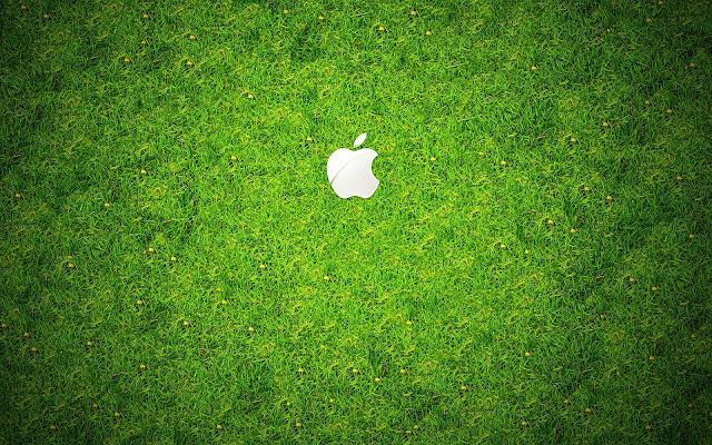 Apple Green Grass