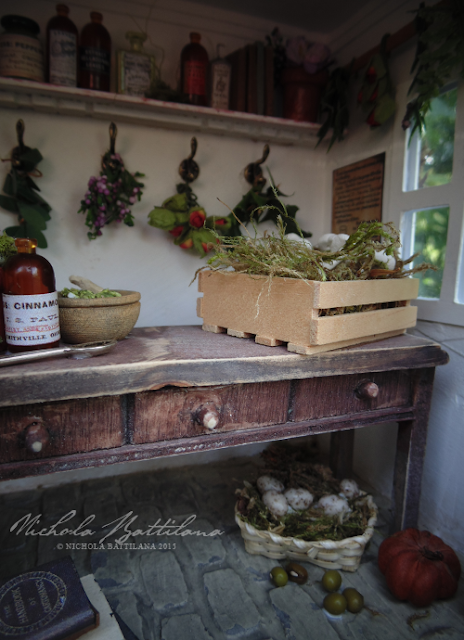 The Wortcunner's Shed for Herbalist Fairy Folk - Nichola Battilana
