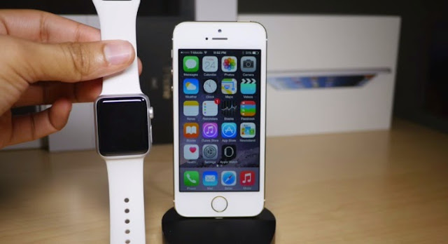 Come collegare iPhone 5 e Apple Watch - connettere - associare - abbinare