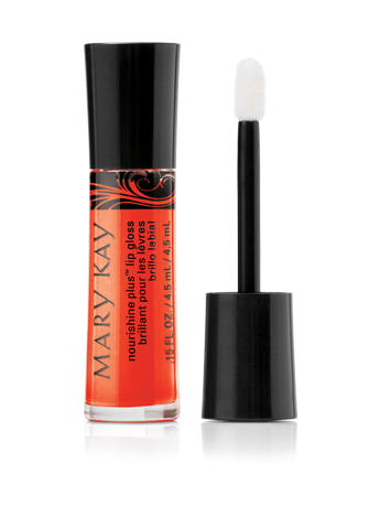 Mary Kay NouriShine Lip Gloss in Mango Tango - #MKGlam