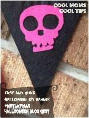cool moms cool tips #muylatinas halloween diy banner piece