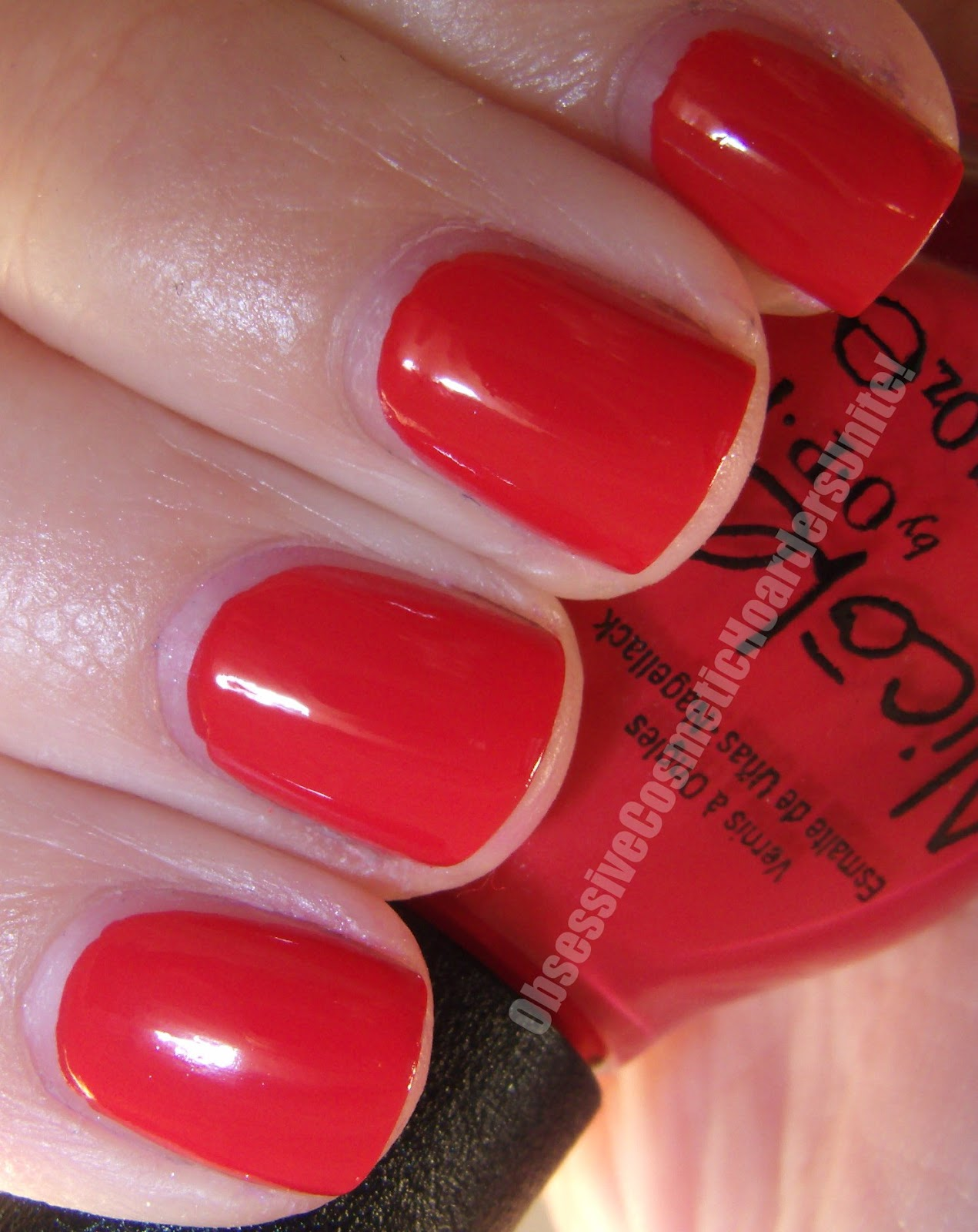 Obsessive Cosmetic Hoarders Unite!: New Nicole By OPI Nail Lacquers ...