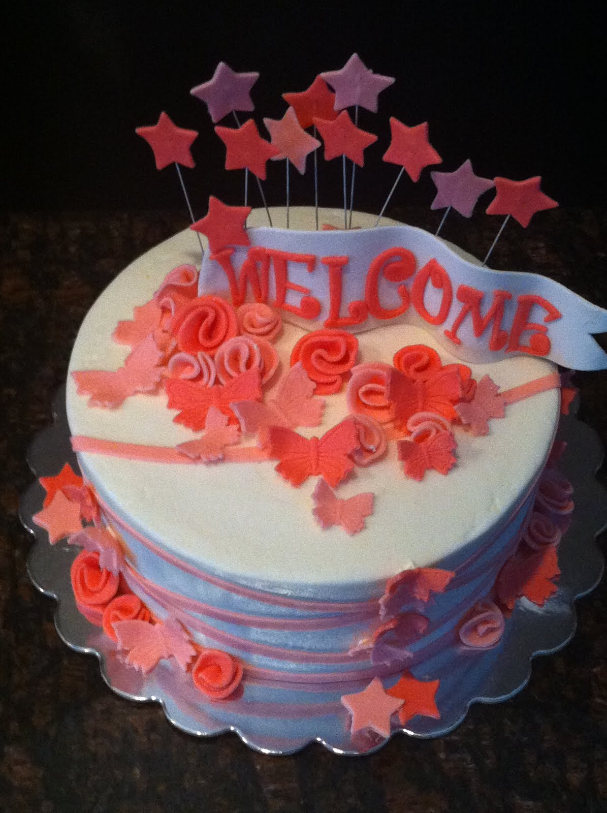 welcome home cake my sweet zepol welcome home cake